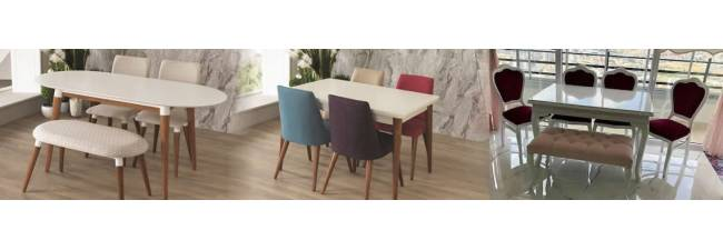 What are the Uses of White Lacquered Tables and Chairs?