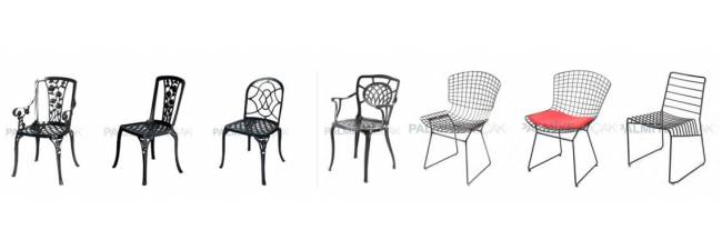 Metal Chair for Outdoors