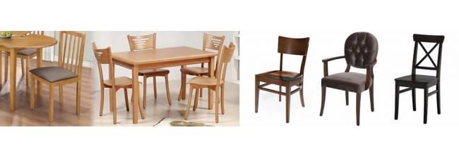 Doğal Yaşam Ortamı için Harika Ahşap Sandalyeler