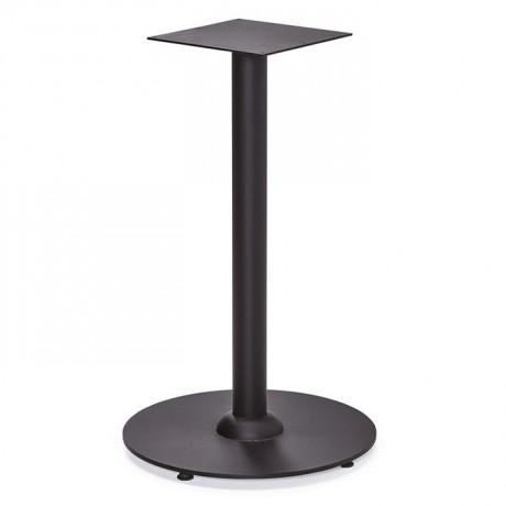Yuvarlak Tabanlı Metal Masa Ayağı - dma6