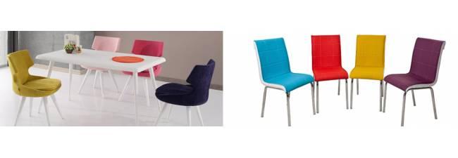 Ev Dekorasyonlarında Renkli Sandalye Kullanımı