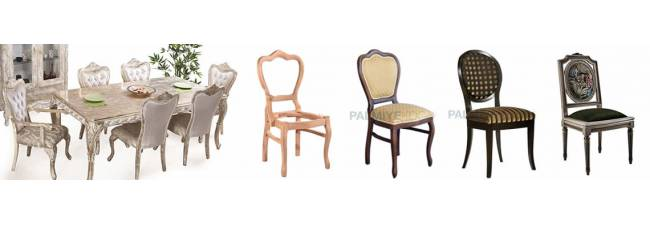 Classic Model Wooden Chairs