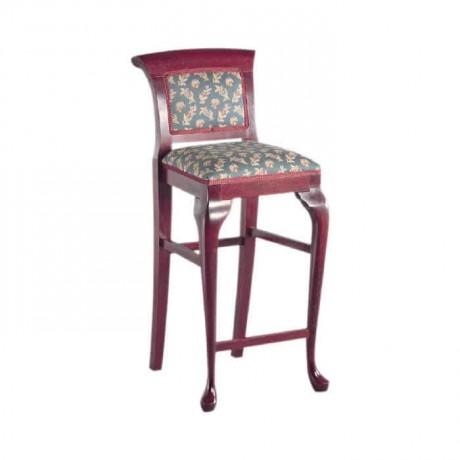 Outdoor Wooden Lukens Leg Bar Chair - abs12