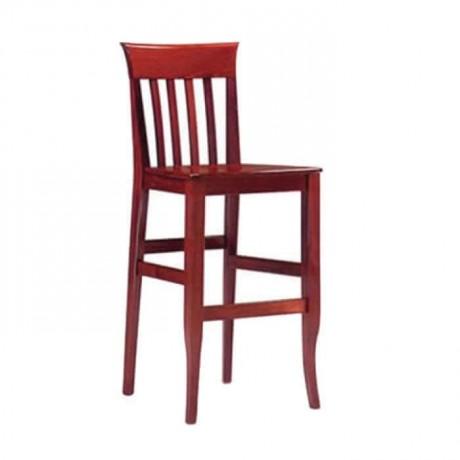 Ahşap Çıtalı Bar Sandalye - abs55
