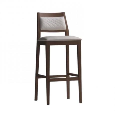 Wooden Modern Bar Chair - abs63