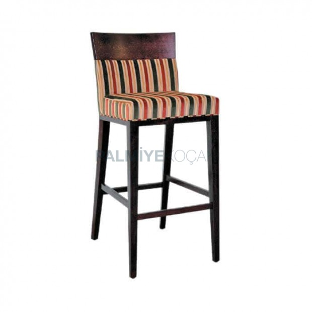 Wooden Head Bar Chair