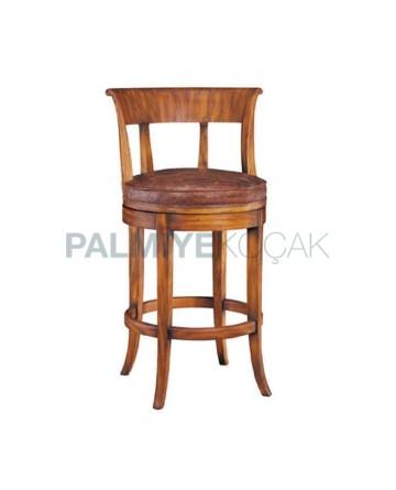 Ahşaplı Bar Sandalye