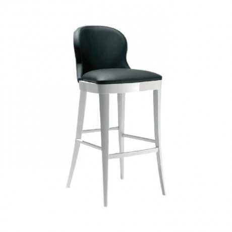 White Lake Leather White Chair - abs18