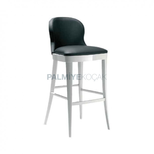 White Lake Leather White Chair