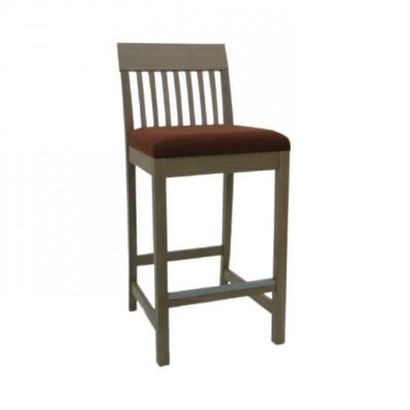 Çıtalı Ahşap Bar Sandalye - abs29