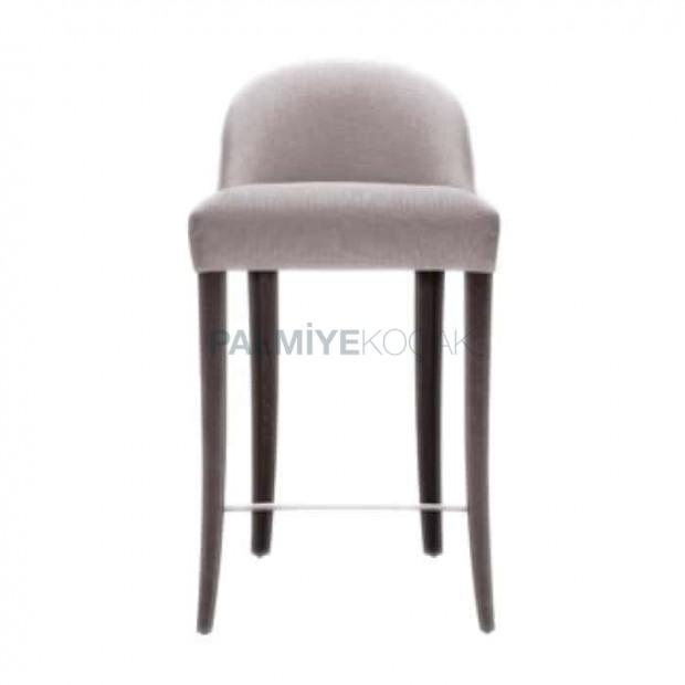 Curved Modern Wooden Bar Chair