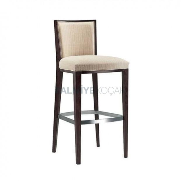 Linen Fabric Bar Chair
