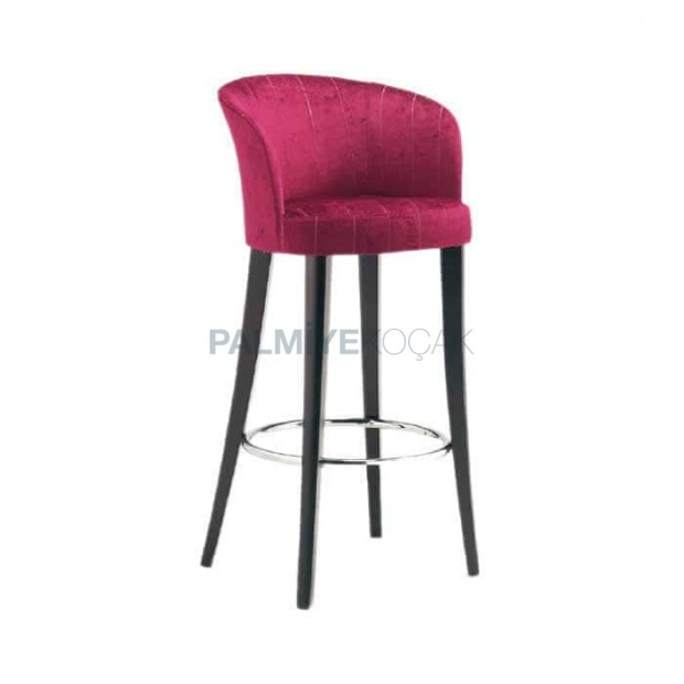 Bar Arm Chair with Curved