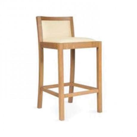 Modern Ahşaplı Bar Sandalye - abs39
