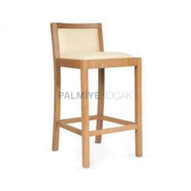 Modern Wooden Bar Chair