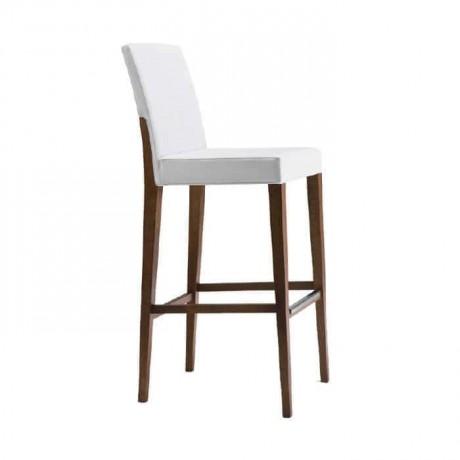Modern Ahşaplı Bar Sandalye - abs44