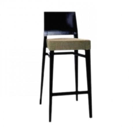 Papel Sırtlı Ahşap Bar Sandalye - abs08