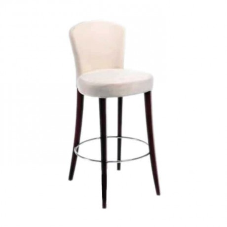 Modern Bar Chair with Curved Back - abs04