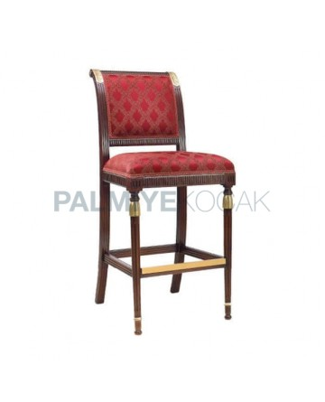 Lathe Leg Bar Chair