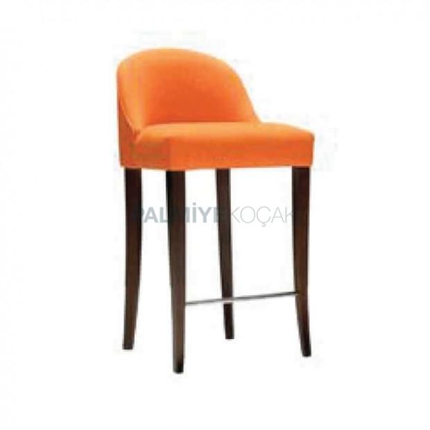 Orange Colorful Bar Chair