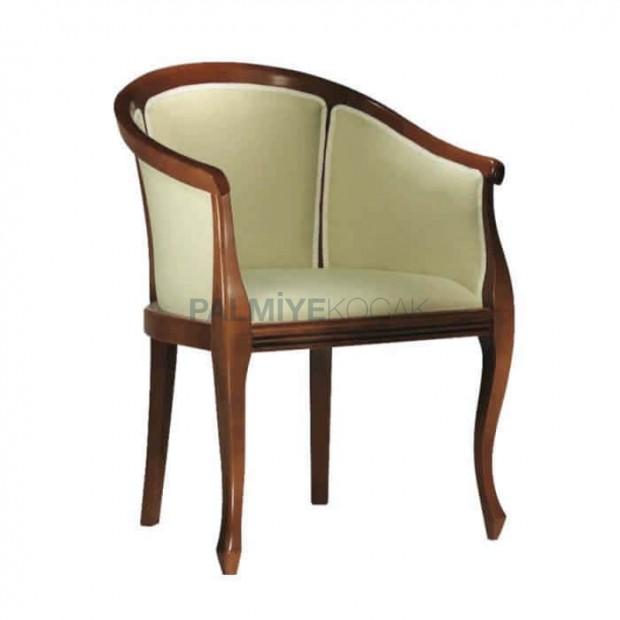 Ahşap Kapalı Kollu Rustik Sandalye