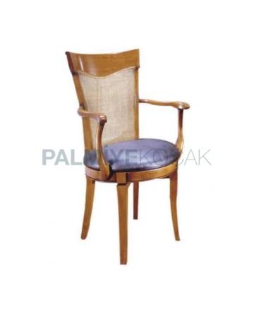 Wooden Classic Restaurant Armchair