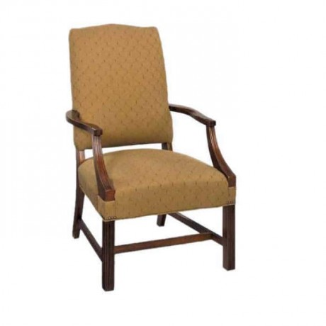 Ahşap Kollu Klasik Sandalye Cafe Sandalyesi - ksak59