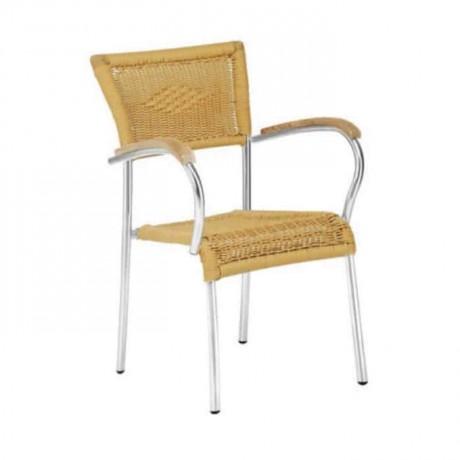 Wooden Stranded Aluminum Chair - alg25
