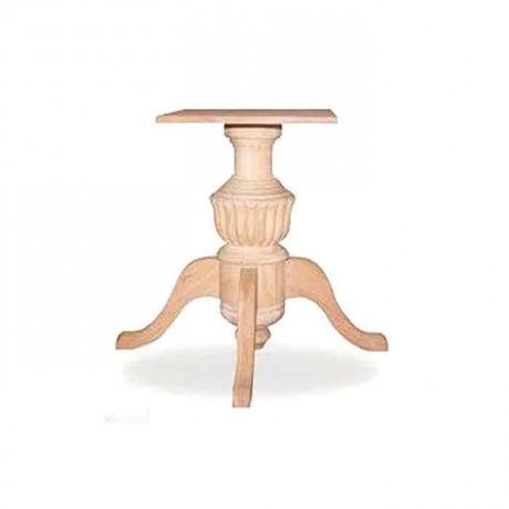 Ahşap Kayın Ağacından İmal Tornalı Masa Ayağı - kma3037