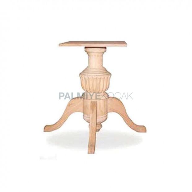 Wooden Beech Wooden Turned Table Leg