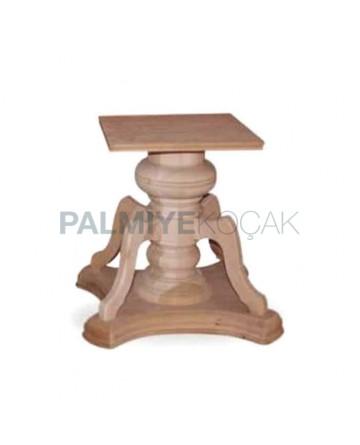 Ahşap Tornalı Masa Ayağı