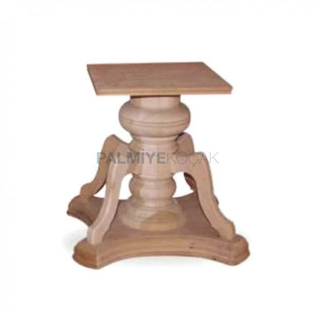 Wood Turned Table Leg