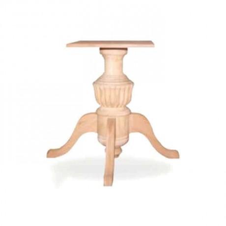 Fitilli Tornalı Masa Ayağı