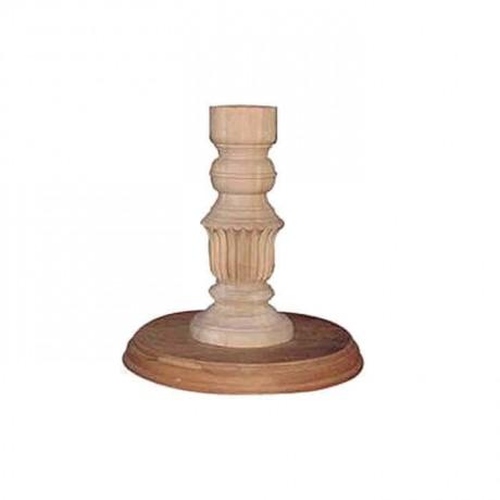 Carving Classic Turned Table Top - kma3043