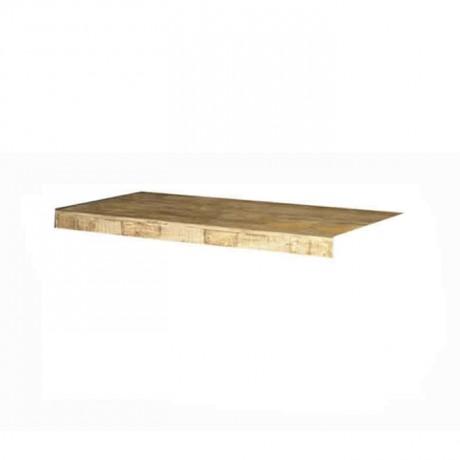 Wooden Rectangular Table Top - asp7539