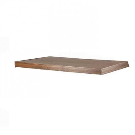 Natural Wood Cafe Restaurant Hotel Table Top - asp7537