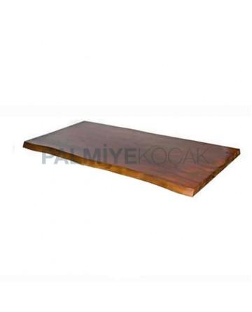 Dark Wooden Restaurant Table Top