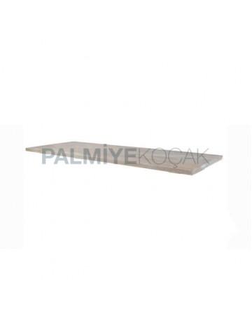 Natural Wooden Garden Table Top