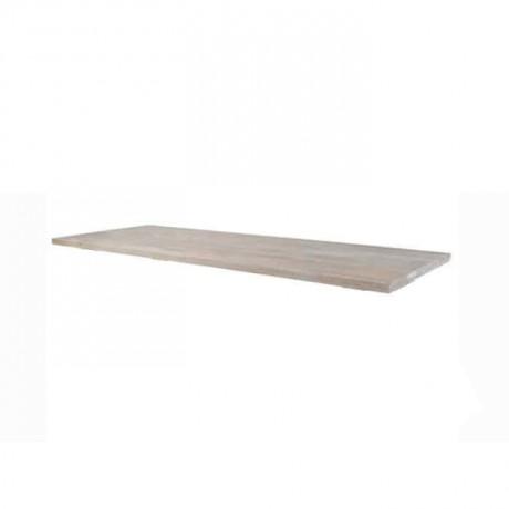 Natural Wooden Garden Table Top - asp7540