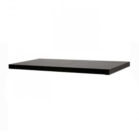 Black Painted Wood Table Top - asp7538
