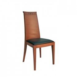 Wooden Beech Antique Painted Modern Armchair