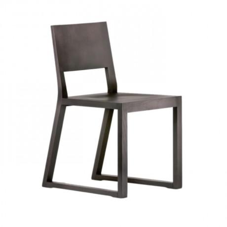Ahşap Modern Bekleme Sandalyesi - msag55