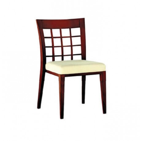 Ahşap Modern Otel Cafesi Sandalyesi - msag16
