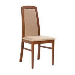 Beige Upholstered Wooden Hornbeam Modern Chair