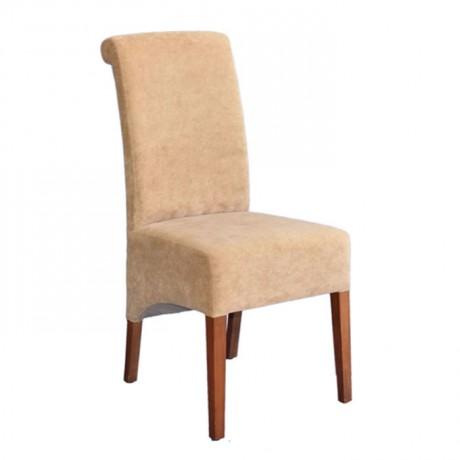 Bej Kumaş Döşemeli Modern Sandalye - msad07