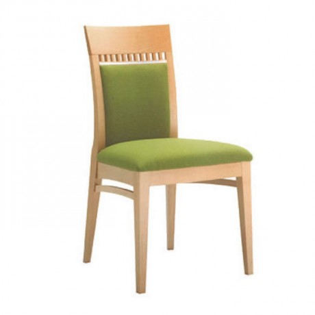 Fıstık Yeşili Kumaş Döşemeli Modern Sandalye - msaf13