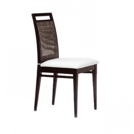 Gürgen Ahşaplı Boyalı Modern Sandalye - msag97