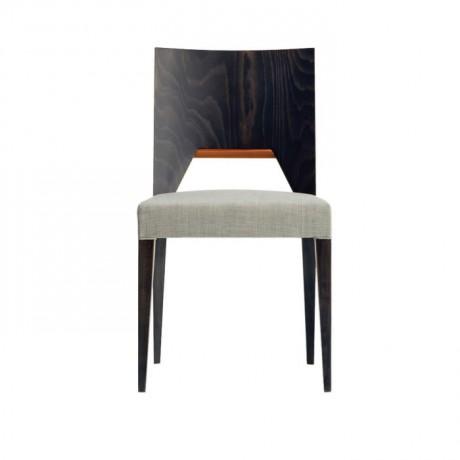 Kayın Kontralı Modern Ahşap Sandalye - msag54