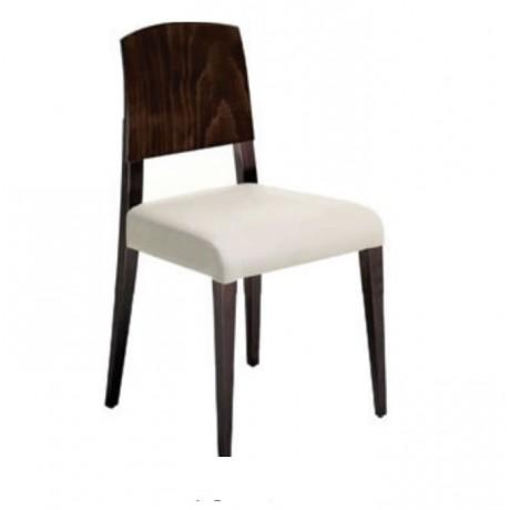 Kontralı Venge Boyalı Modern Sandalye - msag04