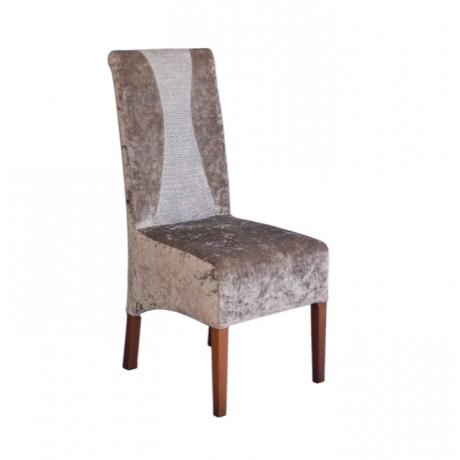Kumaş Döşemeli Modern Cafe Sandalyesi - msab245